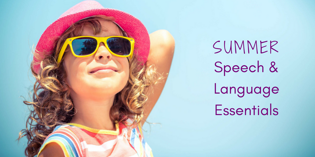 summer speech and language essentials