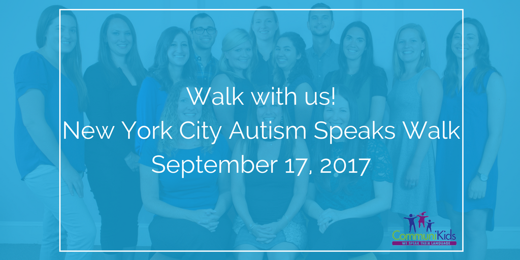 New York City Autism Speaks Walk 2017